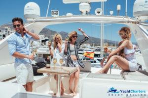 yacht hire marbella